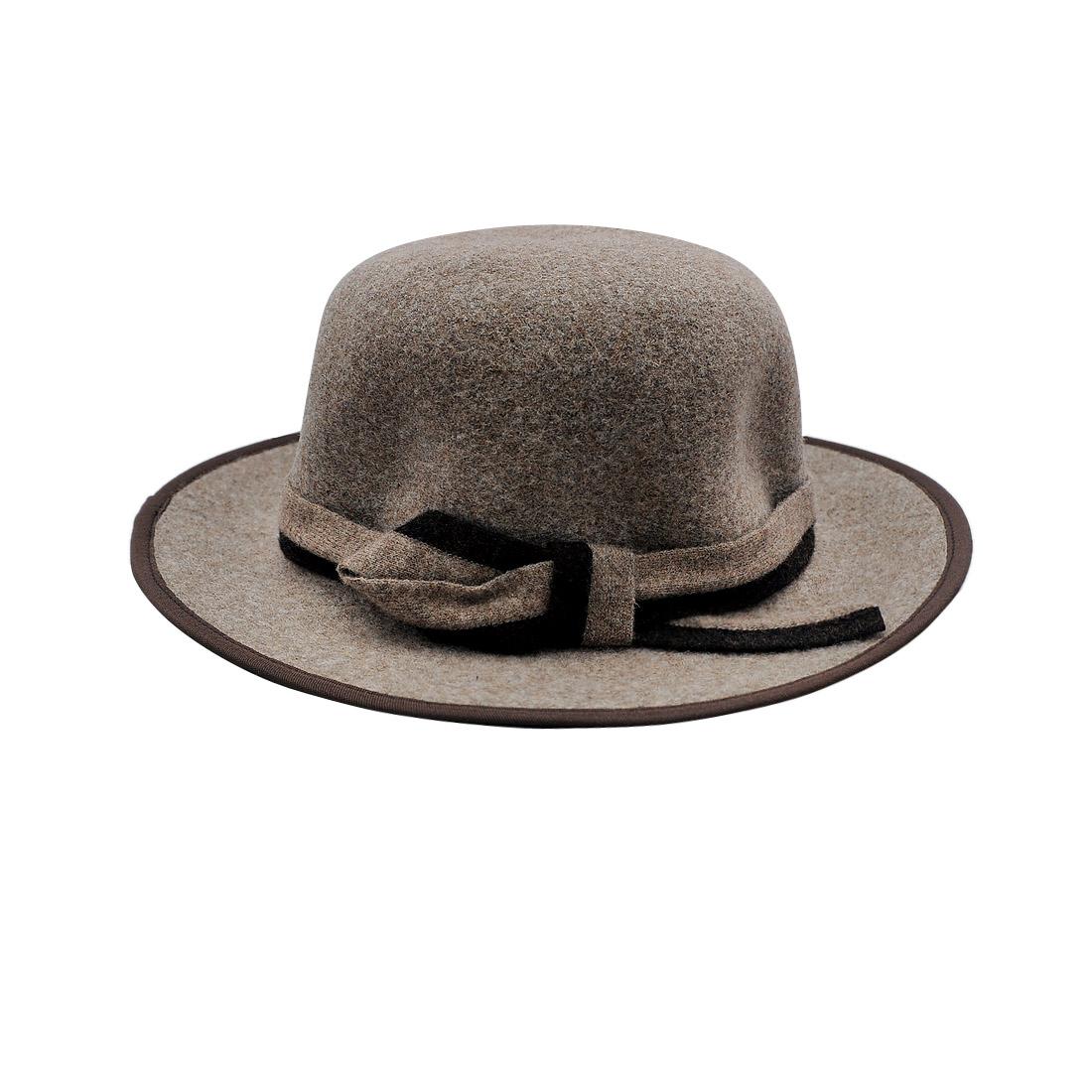 Mũ vành dạ nữ thời trang cao cấp màu xám EH39-4