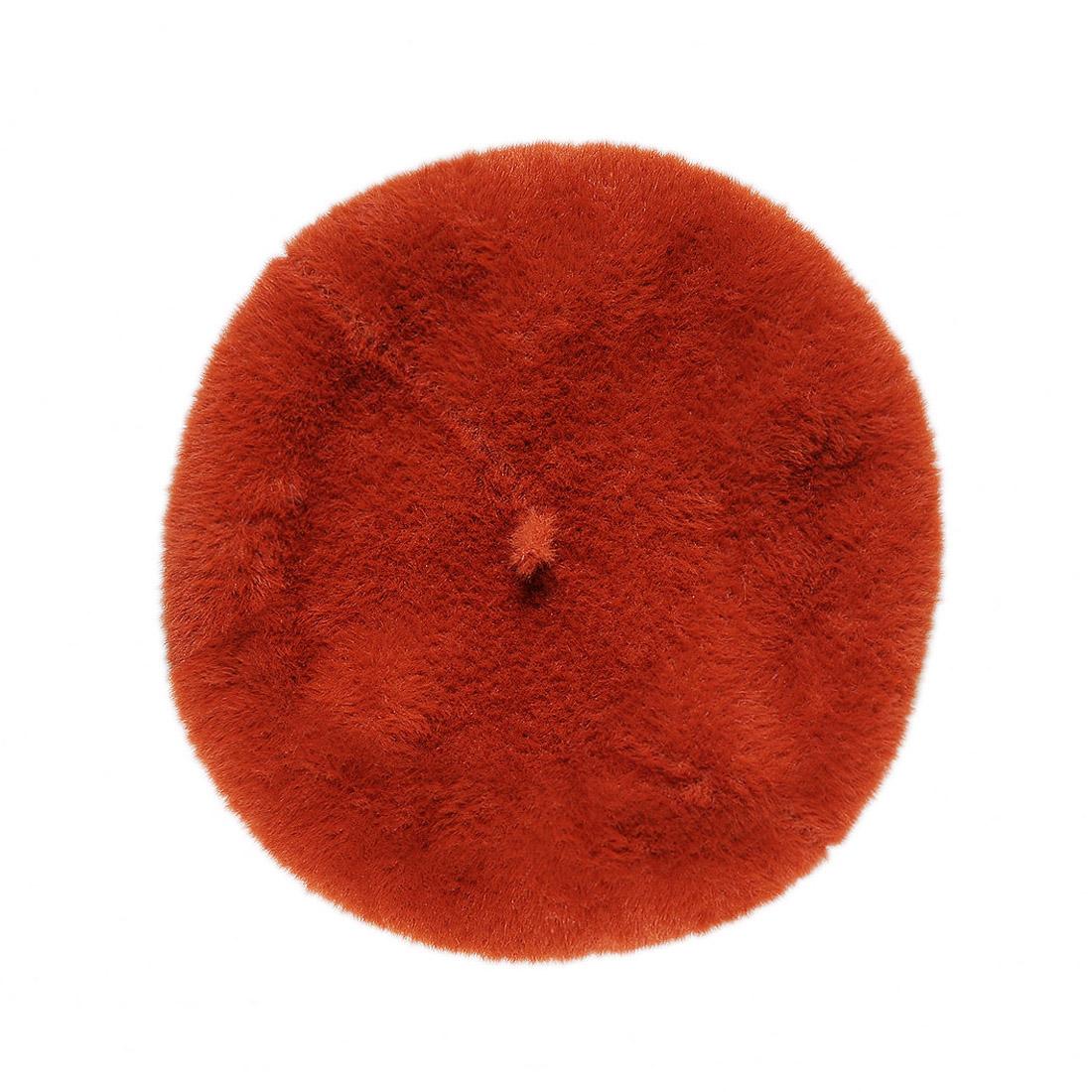 Mũ nồi len lông thời trang cao cấp màu cam EH40-3