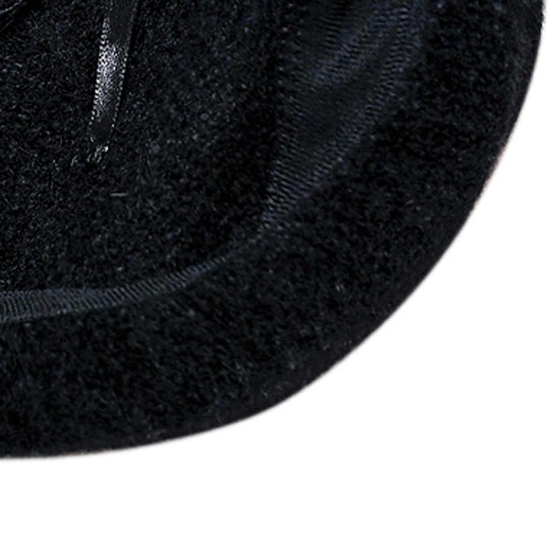 Mũ nồi len thời trang cao cấp màu đen EH44-1