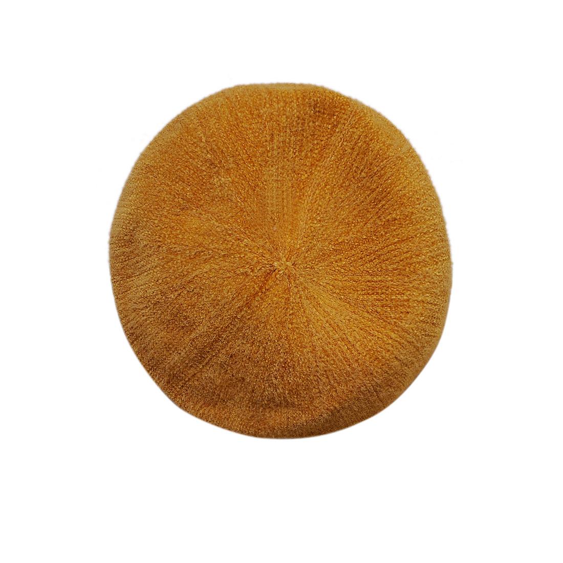 Mũ nồi len thời trang cao cấp màu vàng EH44-3