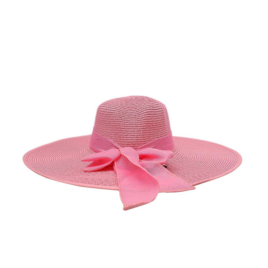 Mũ cói vành rộng thời trang cao cấp EH53-2. Vòng đầu 50cm