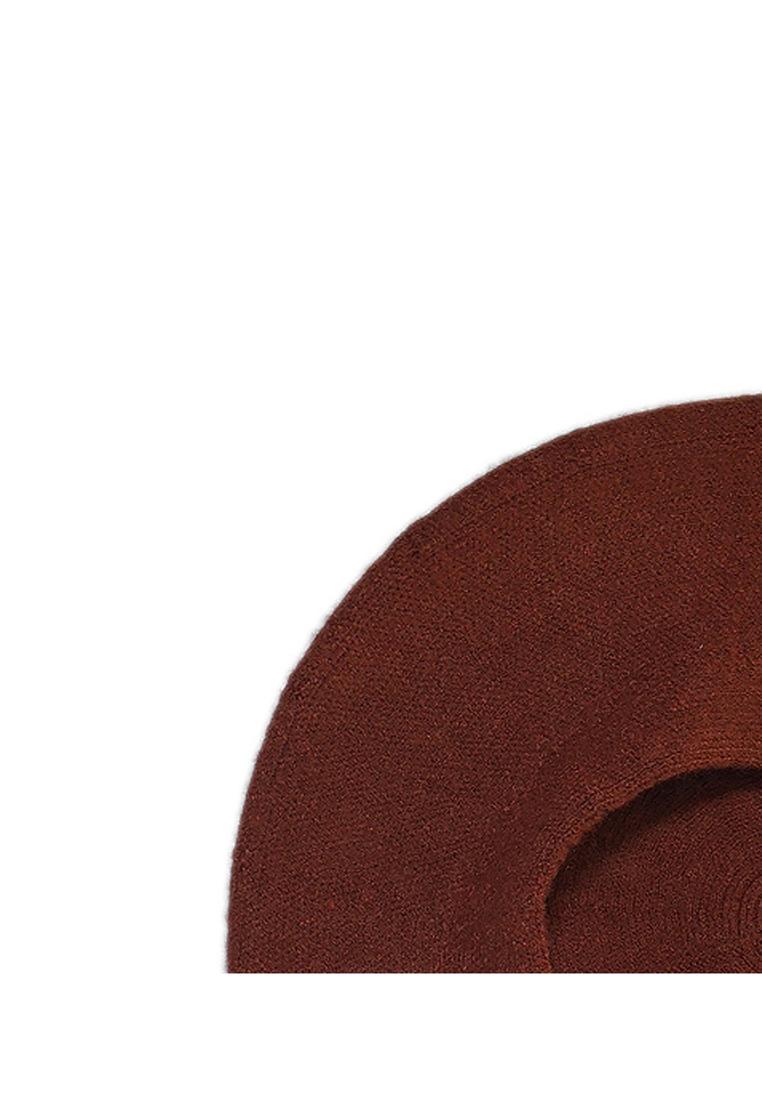 Mũ nồi len cao cấp màu nâu EH55-1