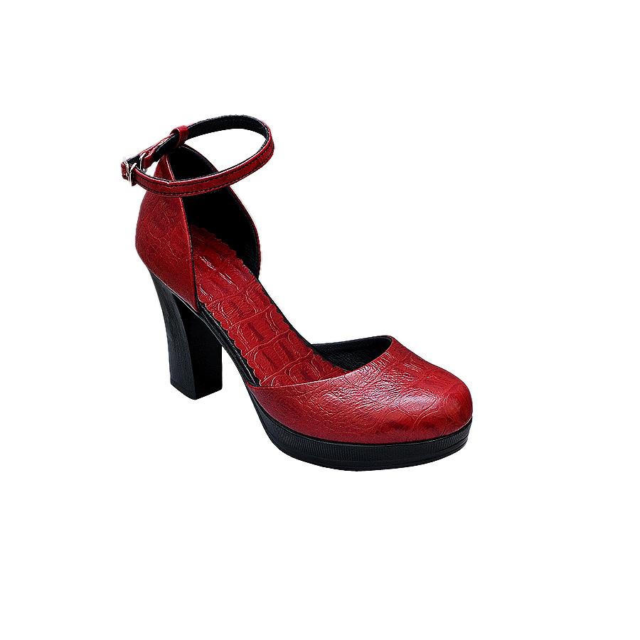Giày cao gót nữ da bò thật cao cấp ELMI ESW271
