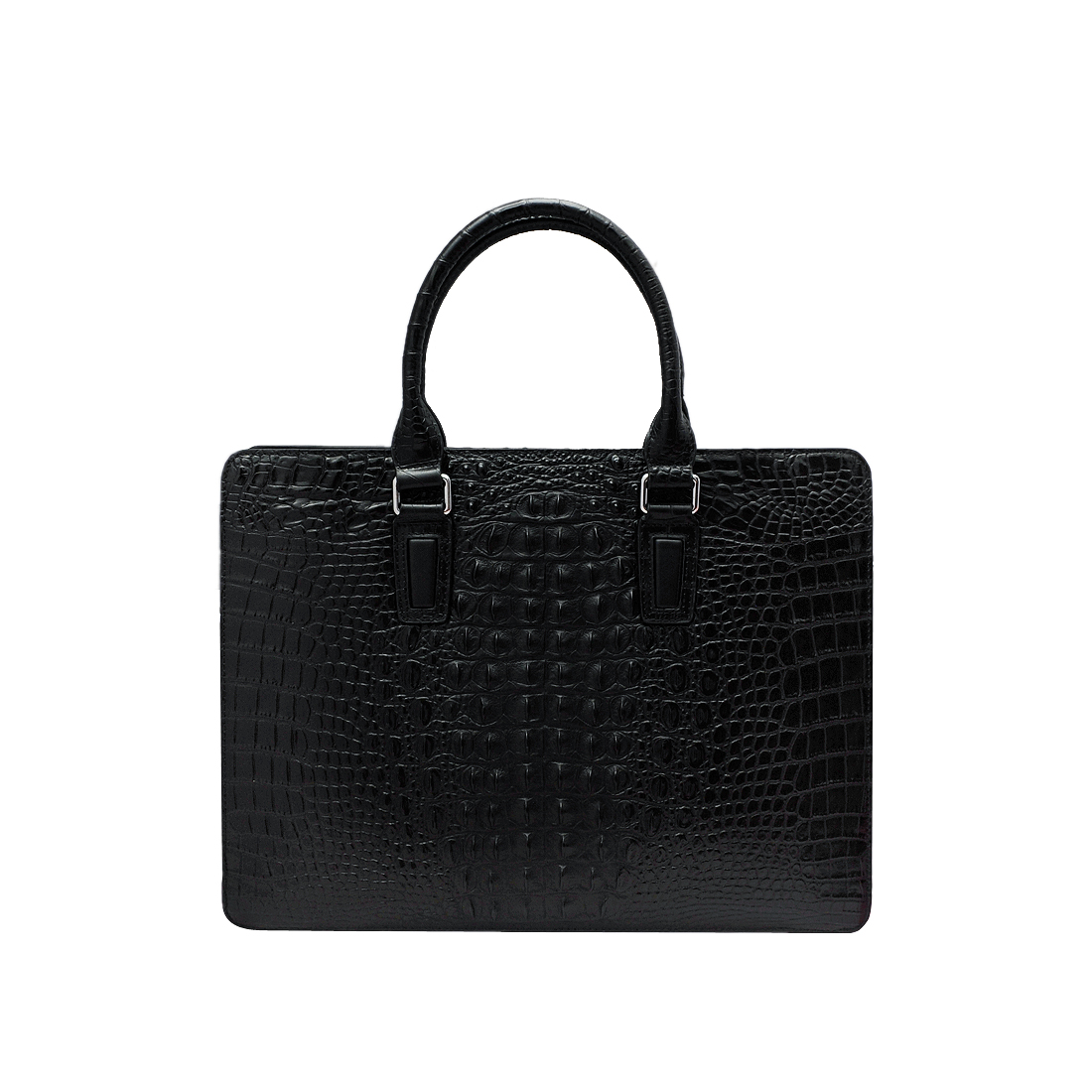 Túi xách nam da bò thật cao cấp màu đen ELMI ET921