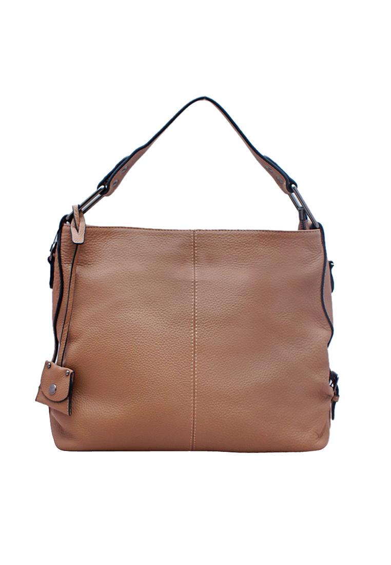 Túi xách tay nữ da bò thật cao cấp ELMI ET963