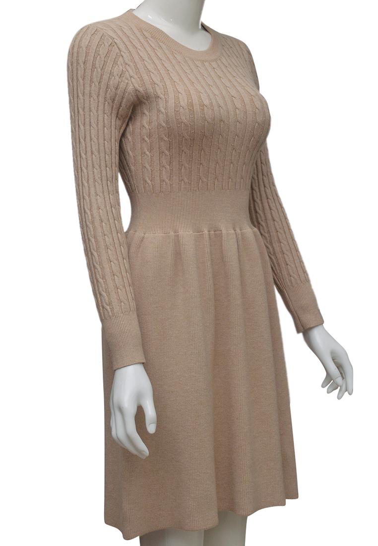 Váy len nữ ELMI thời trang cao cấp màu be EV83-1