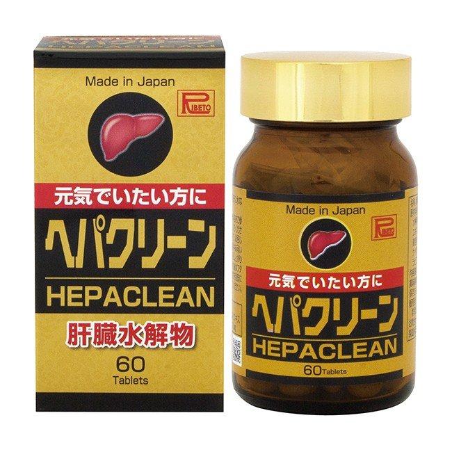 Viên uống tăng cường và bảo vệ chức năng gan HEPACLEAN RIBETO - Hàng Nhật nội địa