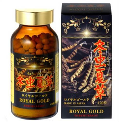 Viên uống đông trùng hạ thảo Tohchukasou Royal Gold 420 viên - Hàng Nhật nội địa