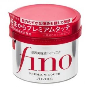 Kem ủ và hấp tóc Fino Shiseido phục hồi tóc hư tổn  - Hàng Nhật nội địa