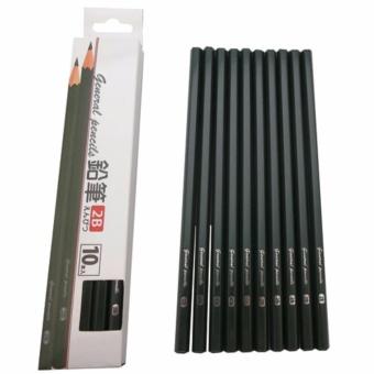 Set 10 bút chì mềm 2B - Hàng Nhật nội địa
