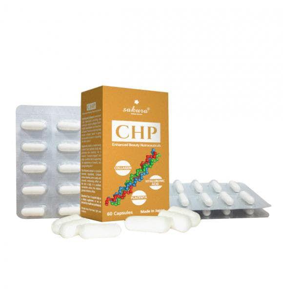 Thực phẩm bảo vệ sức khỏe Sakura CHP Enhanced Beauty Nutraceuticals