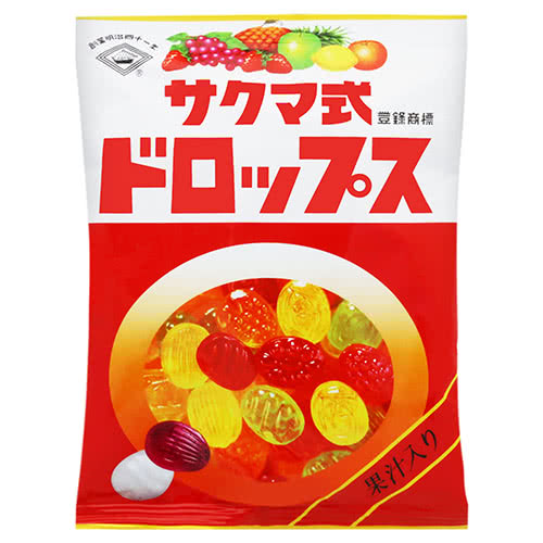 SAKUMA- Kẹo trái cây túi 120g - Hàng Nhật nội địa