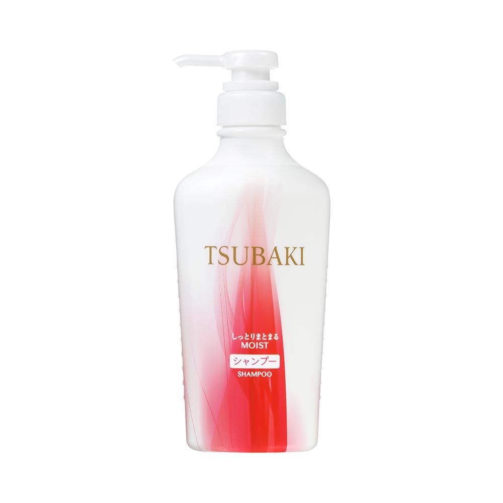 Dầu gội Tsubaki đỏ dưỡng ẩm và giữ nếp 450ml - Hàng Nhật nội địa