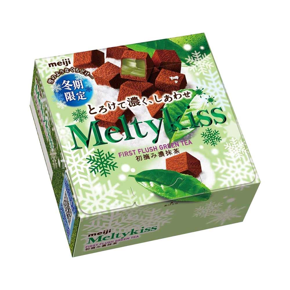 Socola Meiji Melty Kiss Matcha 60g - Hàng Nhật nội địa