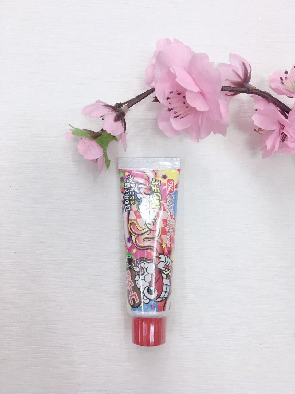 Kẹo sigum kem đánh răng màu đỏ (Vị Cola) - Hàng Nhật nội địa
