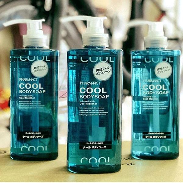 ( Sale 52%) Sữa tắm Cool Body Soap dành cho nam 600ml - Hàng Nhật nội địa