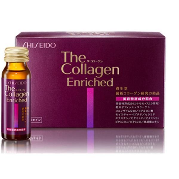 Shiseido The Collagen Enriched 40 tuổi +- Hàng Nhật nội địa