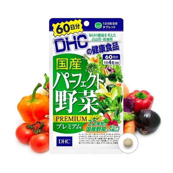 viên uống rau củ quả DHC PREMIUM 60 ngày- Hàng Nhật nội địa