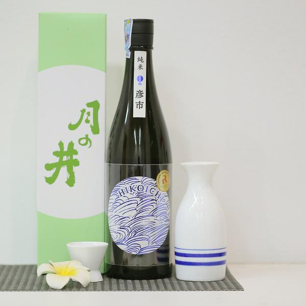 Rượu Sake Tsukinoi Junmai Ginjo Hikoichi 720ml- Hàng Nhật nội địa