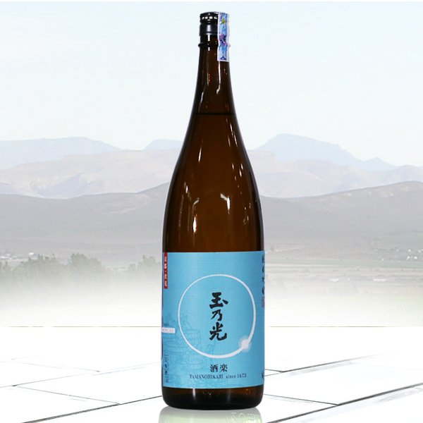 Rượu Sake Tamanohikari Junmai Ginjo Shuraku 720ml- Hàng Nhật nội địa