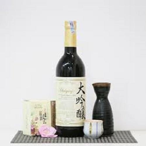 Rượu Sake Nihonsakari Daiginjo 720ml- Hàng Nhật nội địa