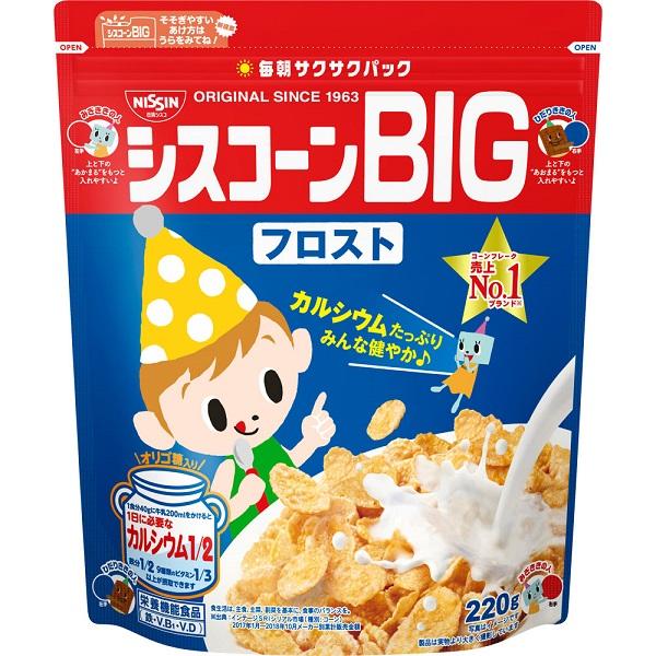 Ngũ cốc hoa quả Nissin Cisco 220g - Hàng Nhật nội địa