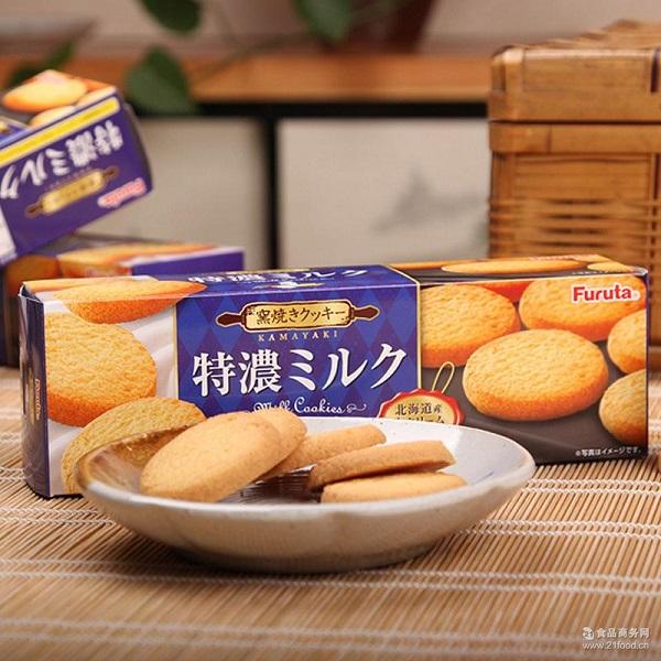 Bánh quy sữa FURUTA (hộp 12 cái) - Hàng Nhật nội địa