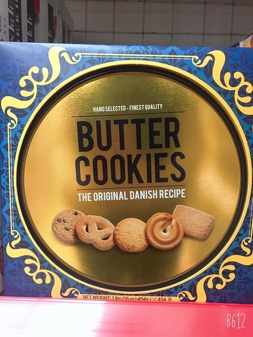 Bánh quy bơ công thức từ Đan mạch của Nhật Bản - Hàng Nhật nội địa