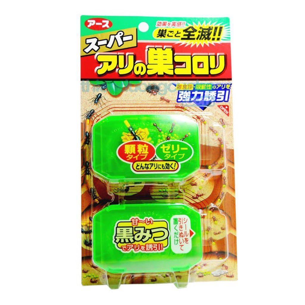 (BIG SALE) Bộ 2 hộp thuốc diệt kiến Super Arinosu Koroki - Hàng Nhật nội địa