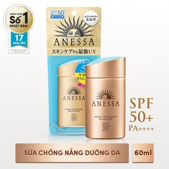 Sữa chống nắng bảo vệ hoàn hảo Anessa 60ml - Hàng Nhật nội địa