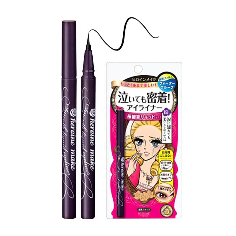 Kẻ mắt Heroin Make KISSME dạng gel (đen) - Hàng Nhật nội địa