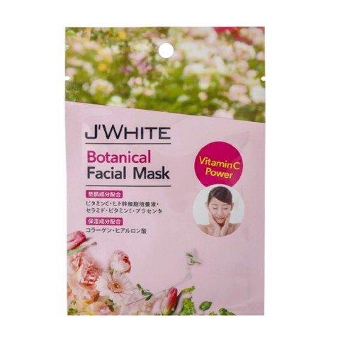 Mặt nạ tinh chất thảo mộc J'White 25g- Hàng Nhật nội địa