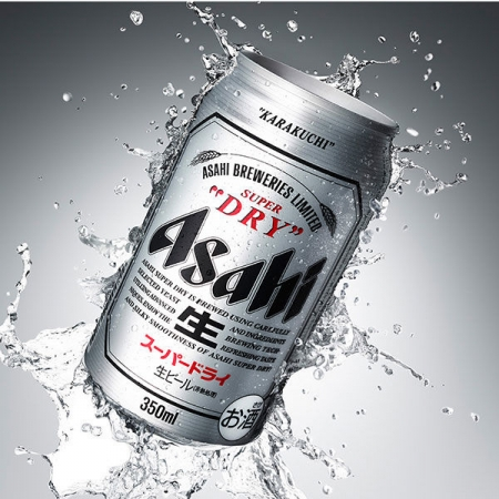 BIA ASAHI SUPER DRY LON 350Ml- Hàng Nhật nội địa