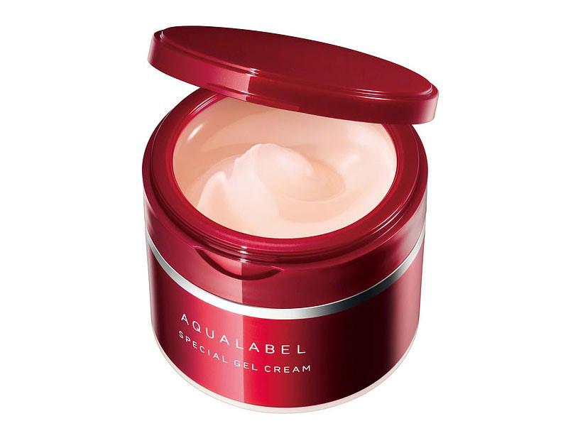 Kem dưỡng Shiseido Aqualabel Special Gel Cream màu đỏ 90g new - Hàng Nhật nội địa
