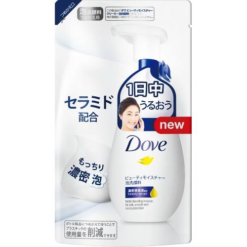 Sữa rửa mặt Dove dạng túi 140ml - Hàng Nhật nội địa