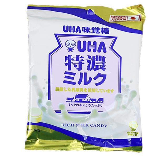 Kẹo UHA Sữa Tokuno 67g - Hàng Nhật nội địa