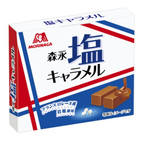 Kẹo caramel muối Morinaga hộp 72gr - Hàng Nhật nội địa