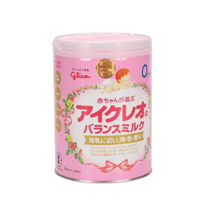 Sữa Glico nội địa số 0 ( bé từ 0-12 tháng)- Hàng Nhật nội địa