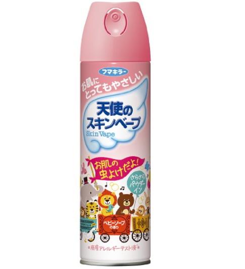 FUMAKILA- Xịt chống côn trùng Skin Vape hương hoa 300ml - Hàng Nhật nội địa