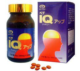 Thực phẩm Chức năng tăng cường trí nhớ, bổ não Pep IQ Up 470mg*150 viên/hộp- Hàng Nhật nội địa