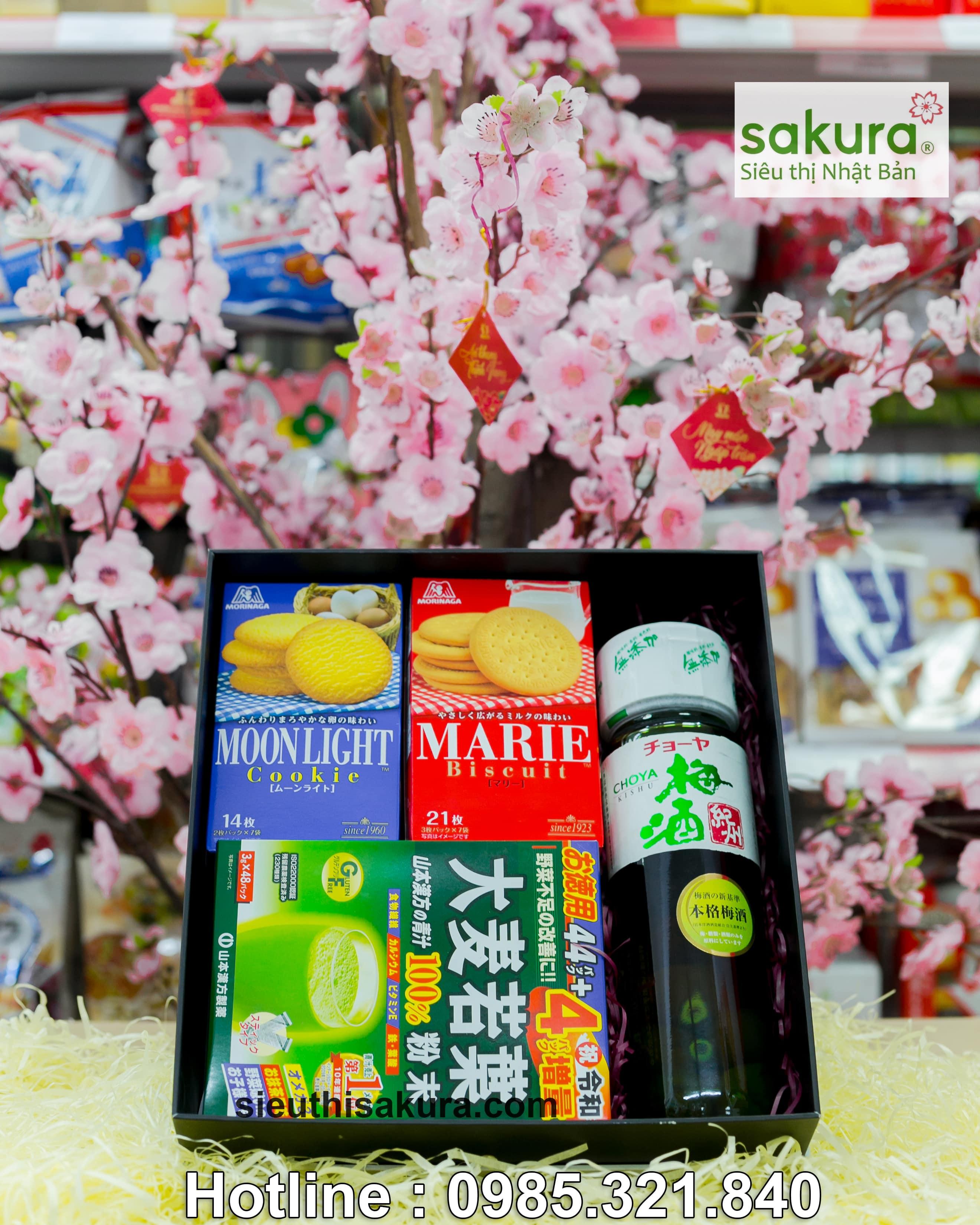 Hộp quà tết Sakura: Xuân Đoàn Tụ