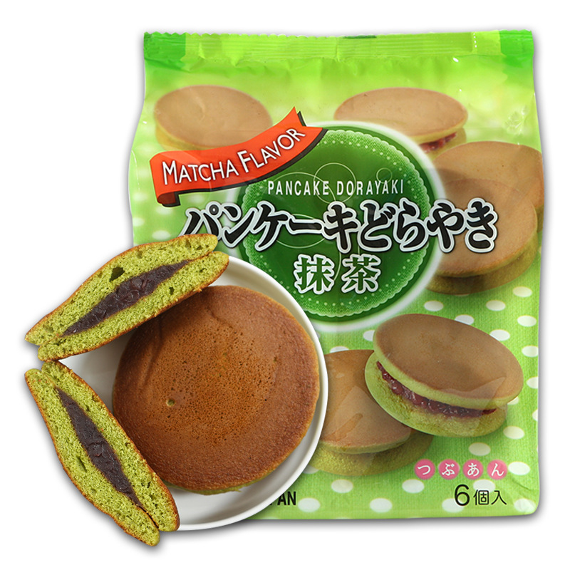 Bánh rán nhân đậu đỏ vị trà xanh 310g - Hàng Nhật nội địa