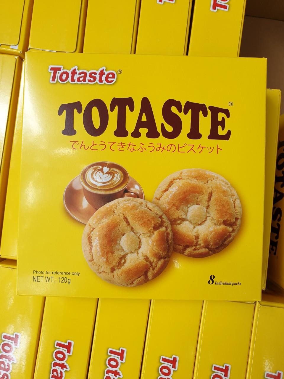 Bánh quy Totaste nhân cà phê sữa 120g - Hàng Nhật nội địa