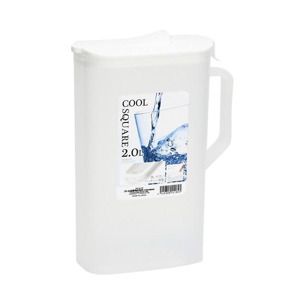 Bình đựng nước cao cấp 2L nắp trắng - Hàng Nhật nội địa