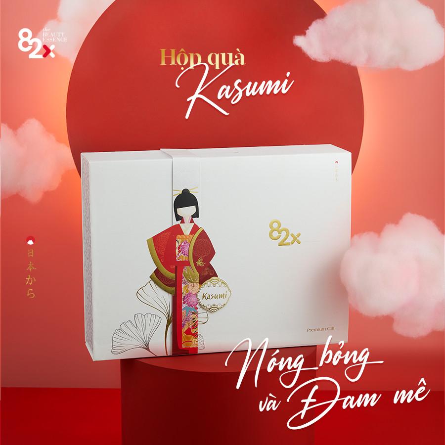 Hộp quà tặng cao cấp 82X Collagen Kasumi