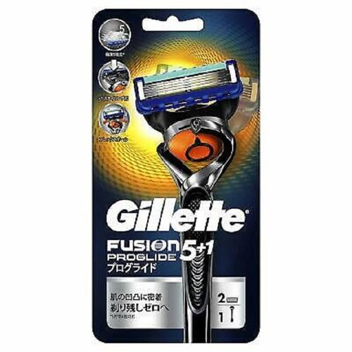 Dao cạo râu Gillette Fusion Nhật Bản 5+1 lưỡi kép ( 1 thân, 2 lưỡi) - Hàng Nhật nội địa