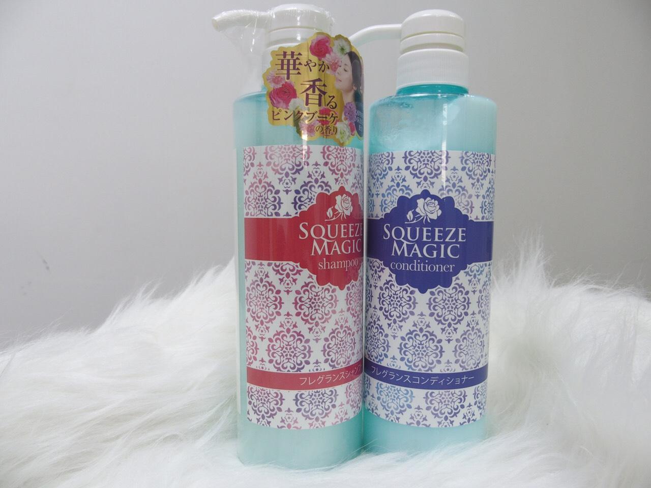 Dầu gội Squeeze 500ml (dưỡng ẩm và phục hồi) - Hàng Nhật nội địa