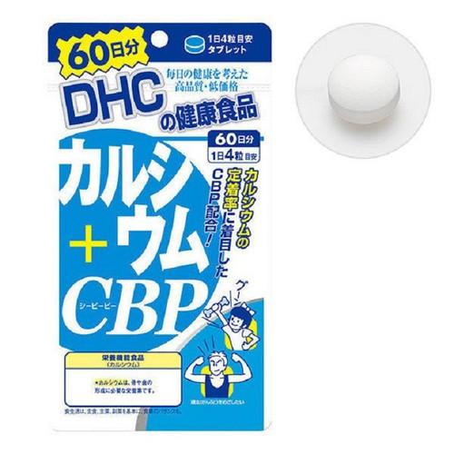 Viên uống Bổ sung Canxi DHC Calcium + CBP 240 viên - Hàng Nhật nội địa