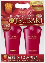 Bộ dầu gội Tasubaki (màu đỏ) - Hàng Nhật nội địa