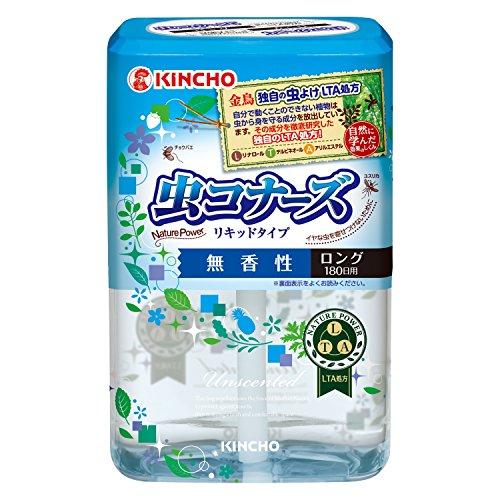 Dung dịch đuổi muỗi hương trà xanh 180 ngày Kincho - Hàng Nhật nội địa